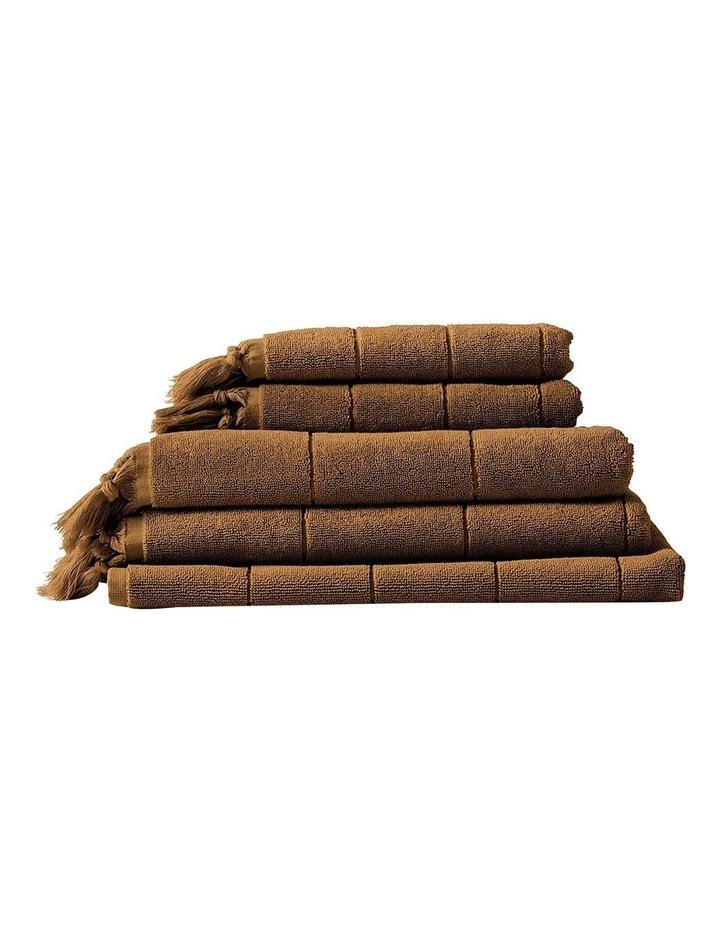 Paros Bath Towel Set in Caramel image 1