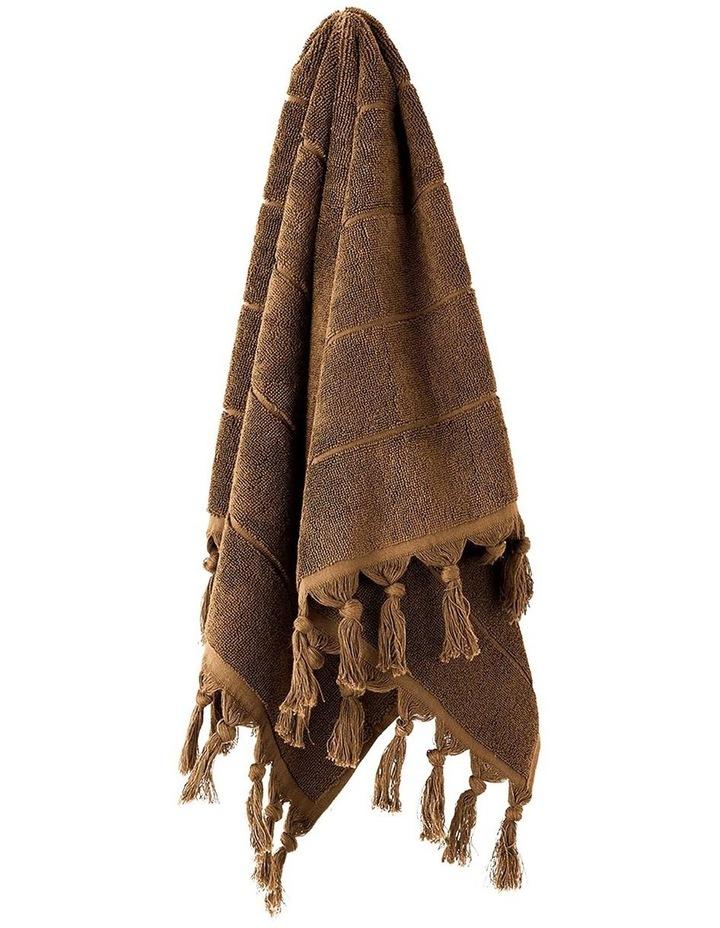 Paros Bath Towel Set in Caramel image 2