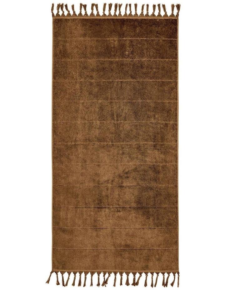Paros Bath Towel Set in Caramel image 5