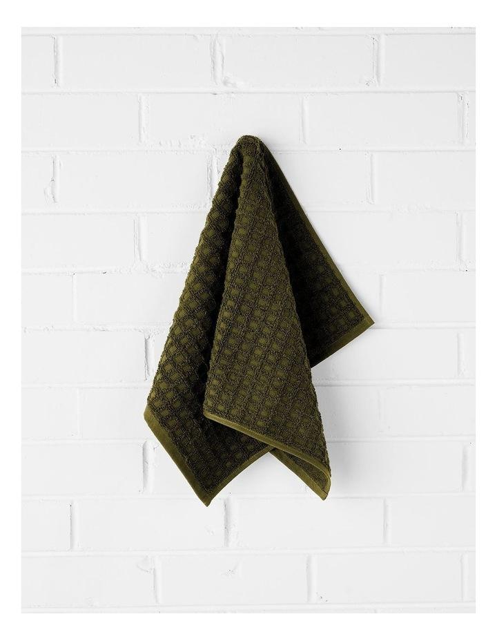 Waffle Bath Towel Set - Khaki image 2