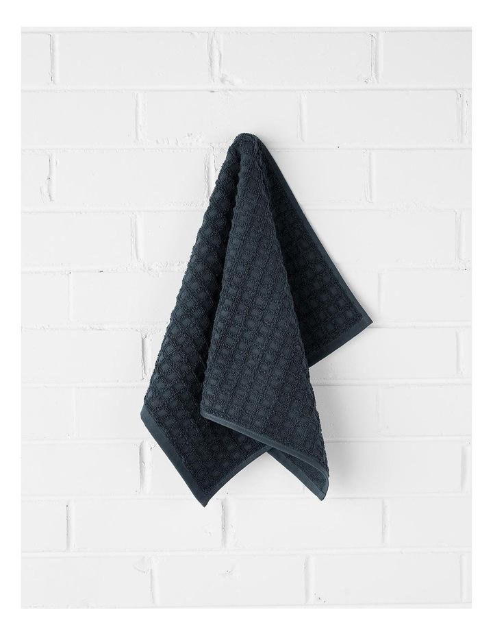 Waffle Bath Towel Set - Slate image 2
