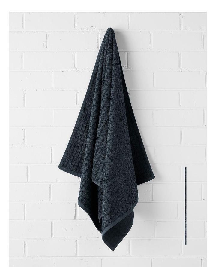 Waffle Bath Towel Set - Slate image 3