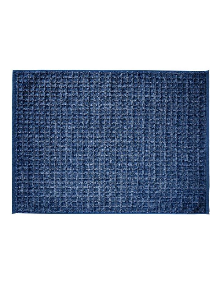 Waffle Bath Towel Set - Bijou Blue image 4