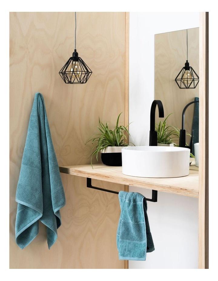 Velour Stripe Bath Towel Range image 4