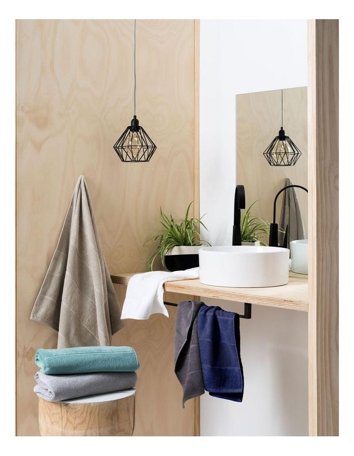 Velour Stripe Bath Towel Range image 5