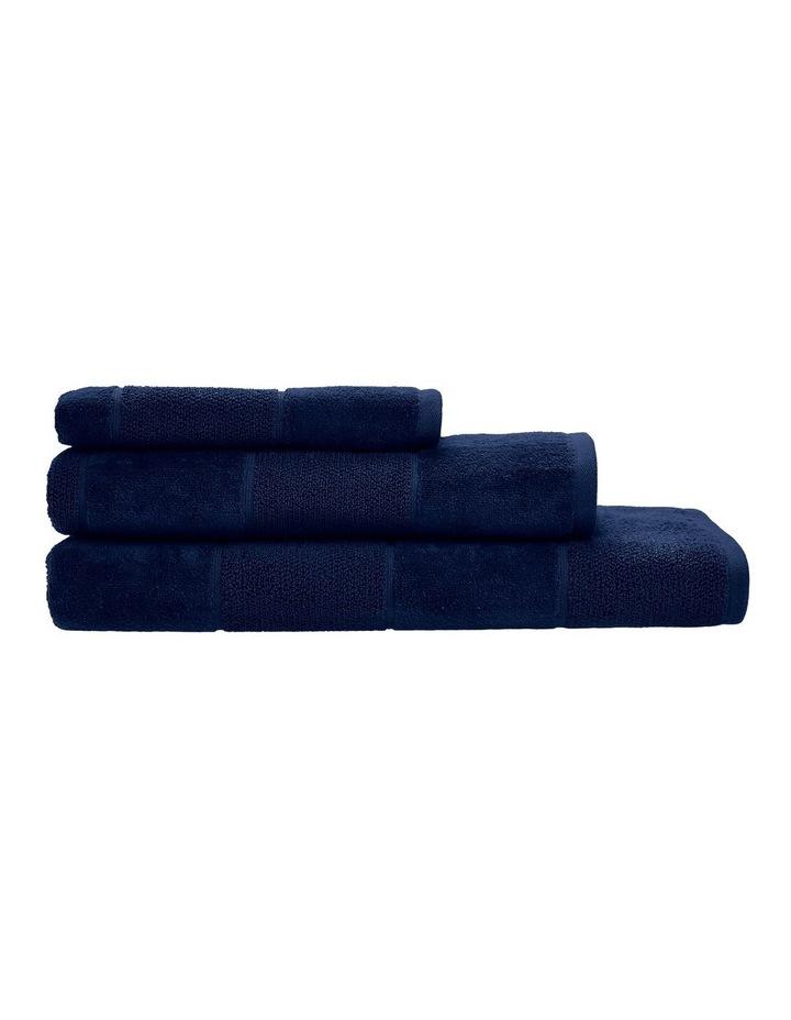 Velour Stripe Bath Towel Range image 1