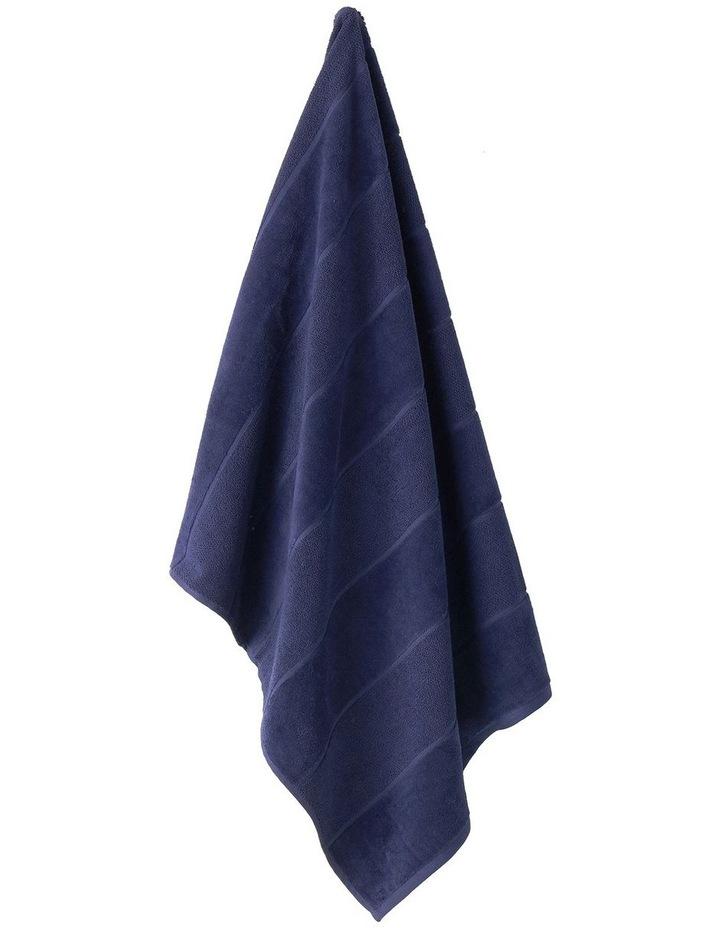 Velour Stripe Bath Towel Range image 2
