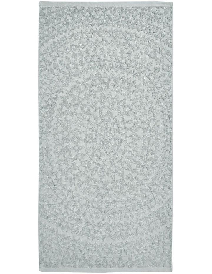 Maya Bath Towel Set in Limestone image 3