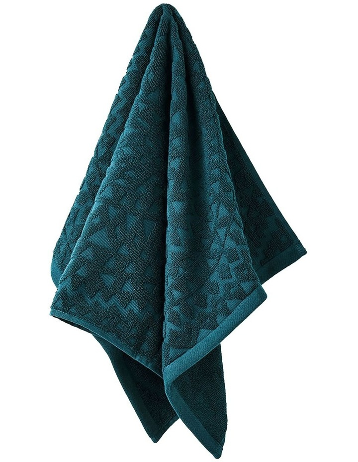Maya Bath Towel Set in Indian Teal image 4