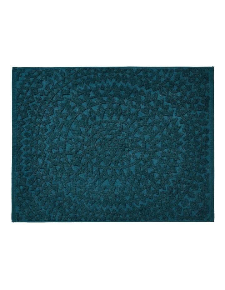 Maya Bath Towel Set in Indian Teal image 6