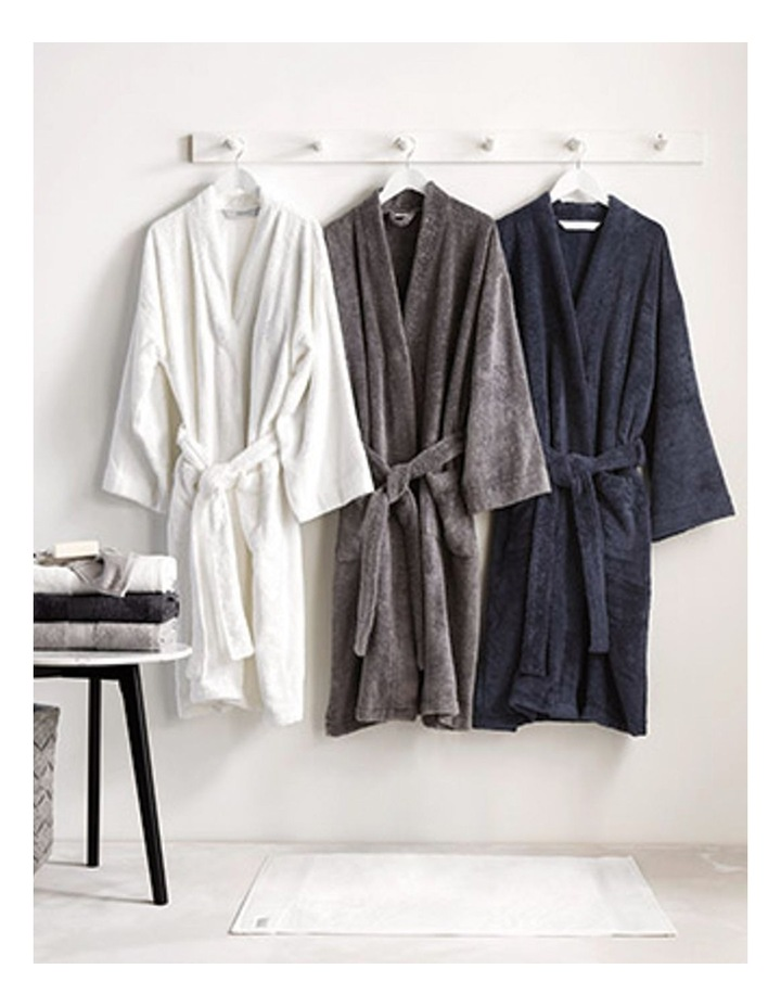 Quick Dry Luxury Bath Robe in Midnight image 3 85150fa5a