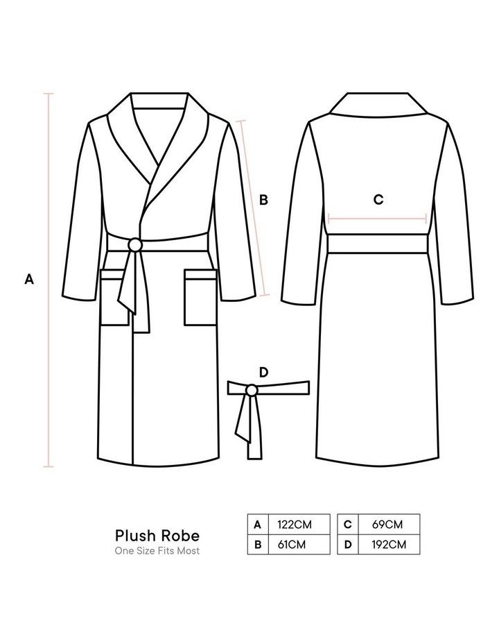 Plush Bath Robe image 3