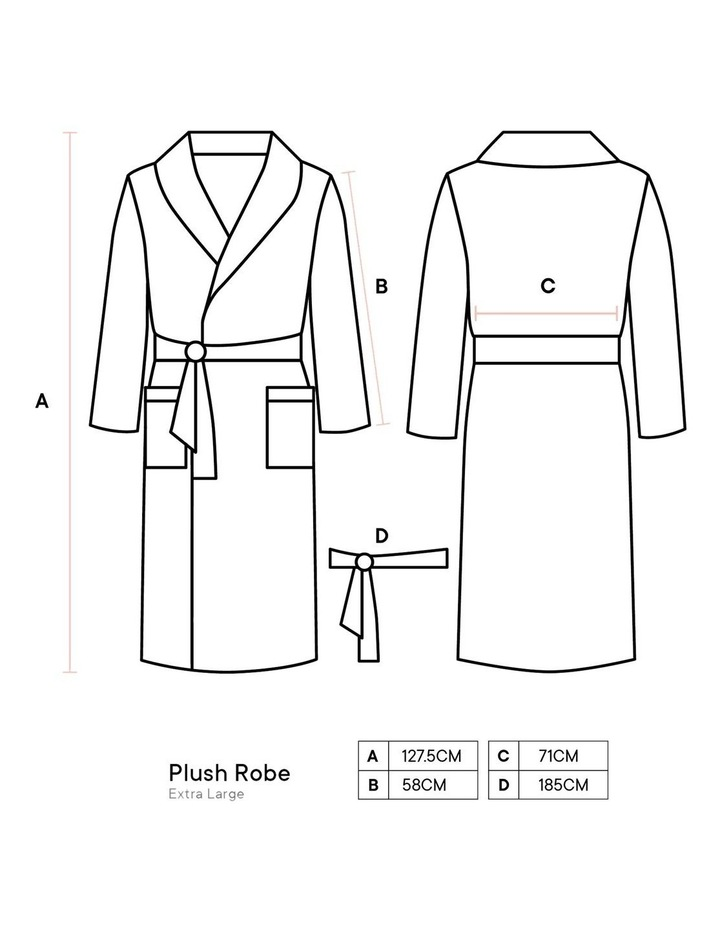 Plush Bath Robe image 4