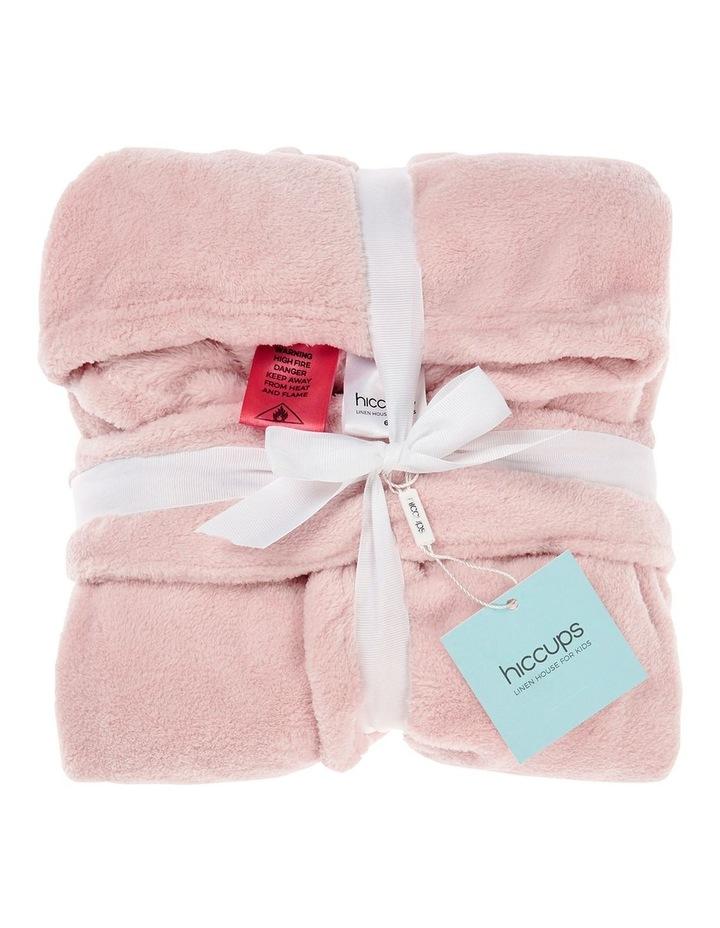 Plush Robes In Blush image 2