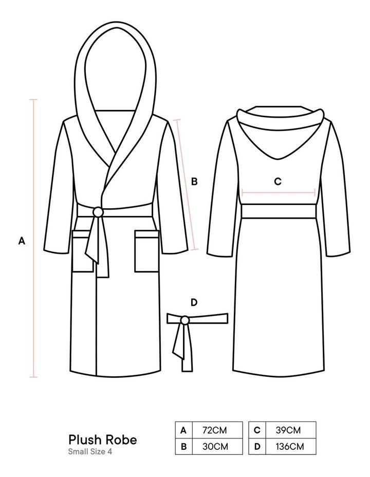Plush Robes In Blush image 3