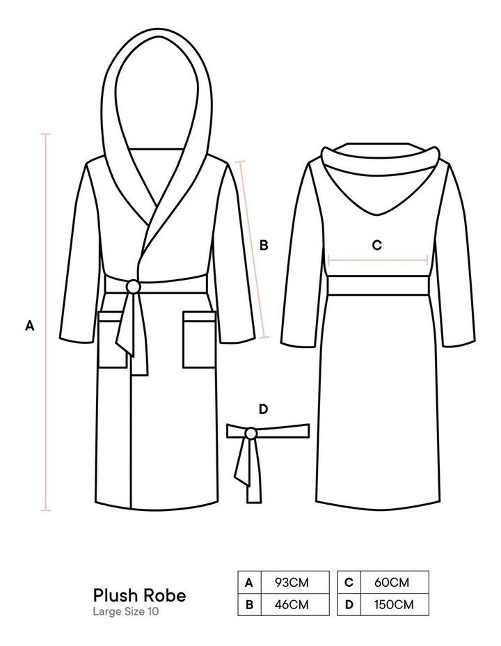 Plush Robes In Blush image 5