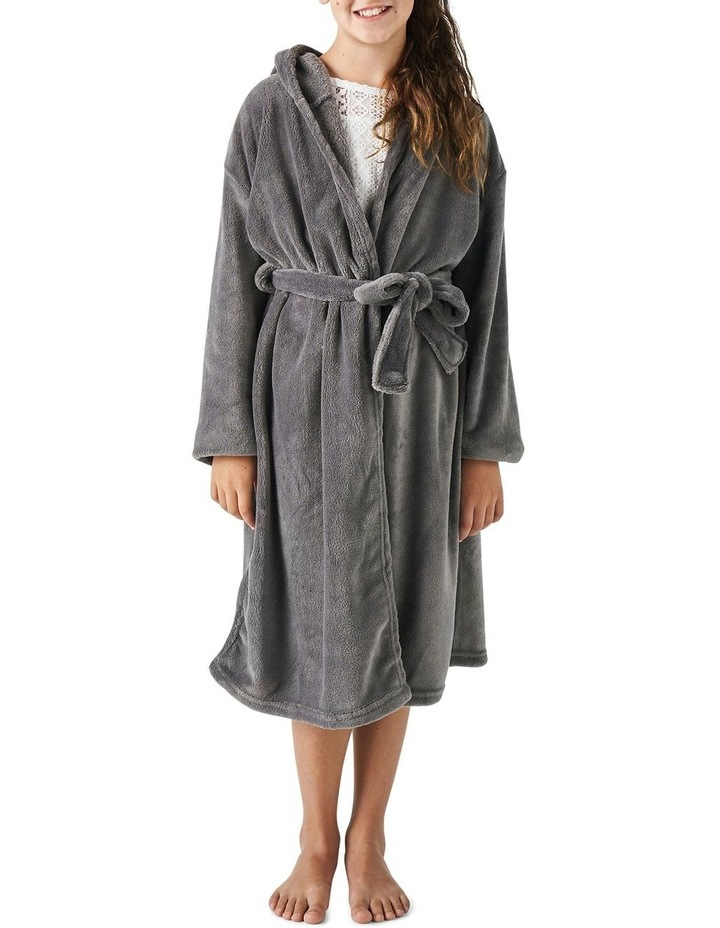 Plush Robes In Charcoal image 1