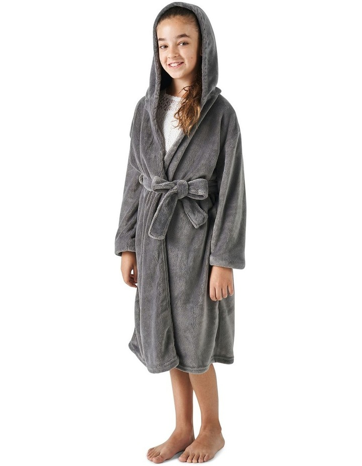 Plush Robes In Charcoal image 2