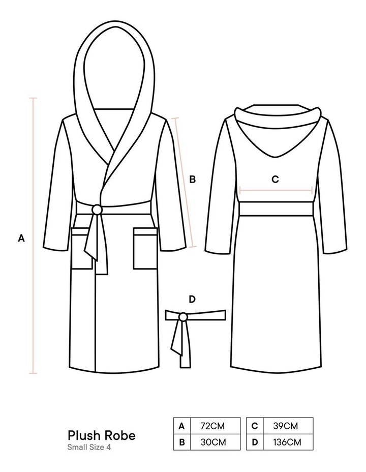 Plush Robes In Charcoal image 4