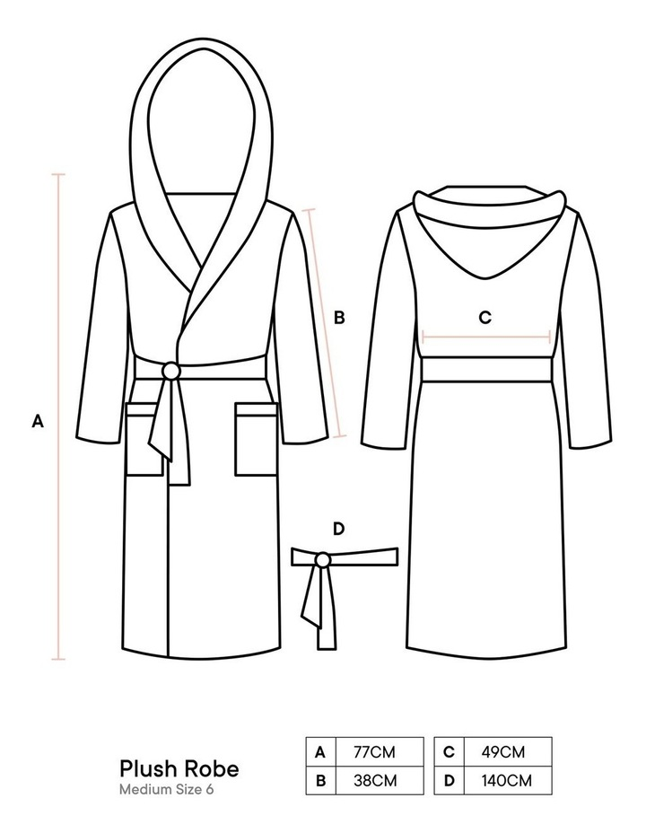 Plush Robes In Charcoal image 5