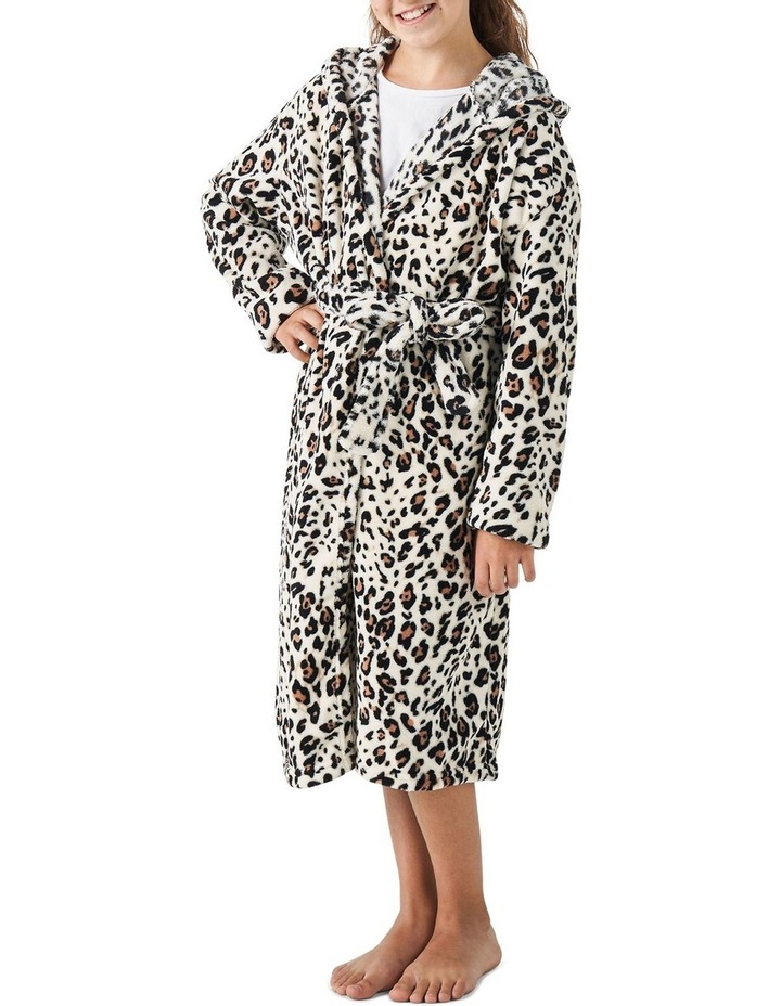 Plush Robes In Leopard image 1
