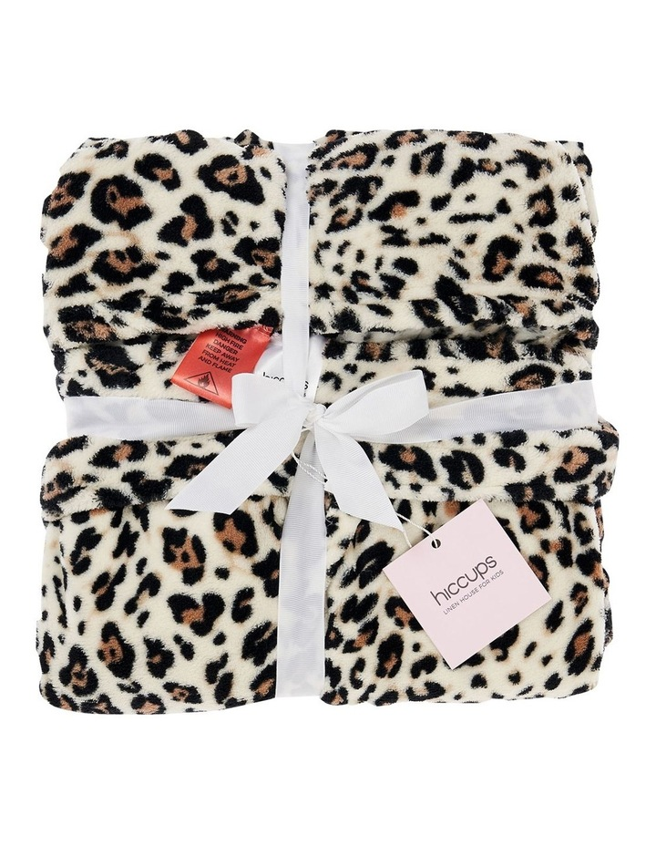 Plush Robes In Leopard image 2