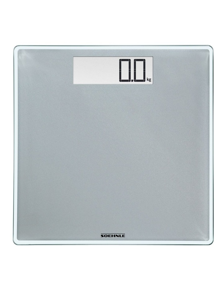 Style Sense Confort 400 Bathroom Scales in Silver image 1