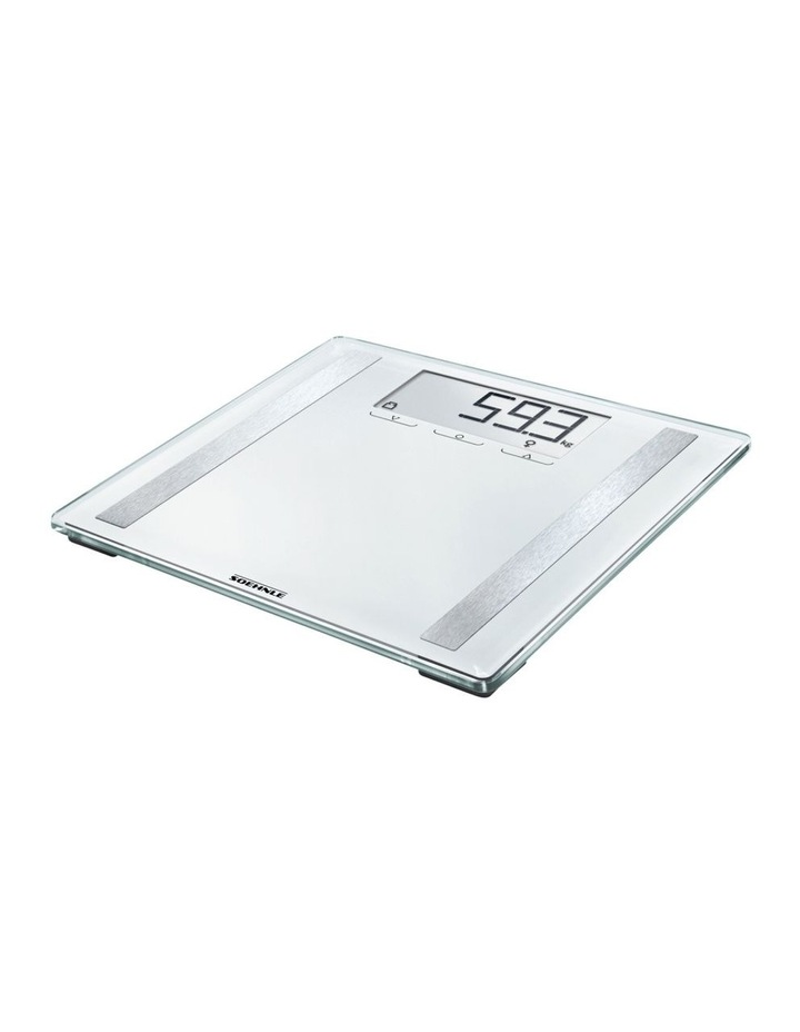 Style Sense Confort 400 Bathroom Scales in White image 1