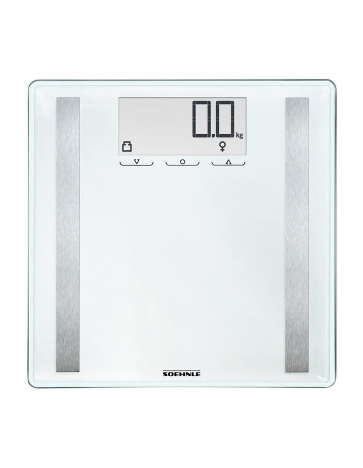 Style Sense Confort 400 Bathroom Scales in White image 2