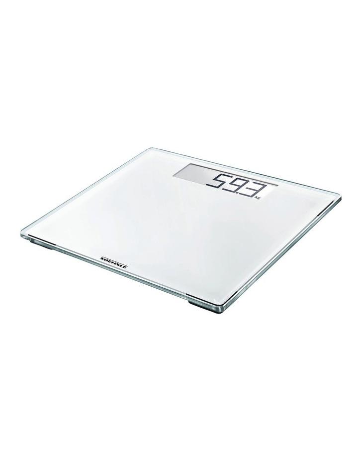 Style Sense Comfort 100 White Bathroom Scale image 1
