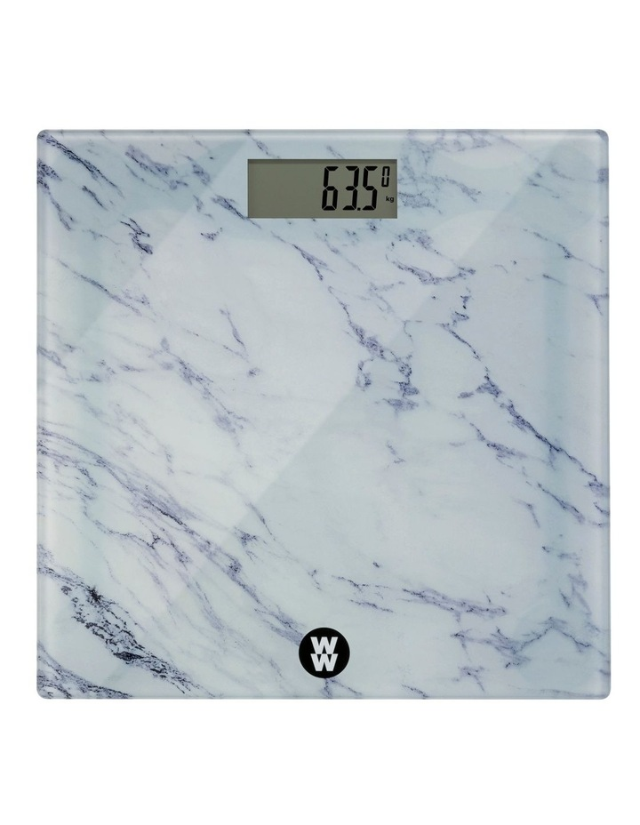 Marble Body Weight Scale: WW8903MA image 1
