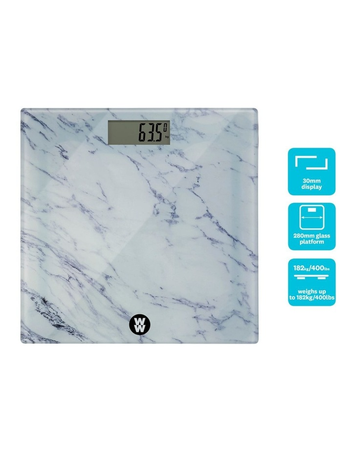 Marble Body Weight Scale: WW8903MA image 2