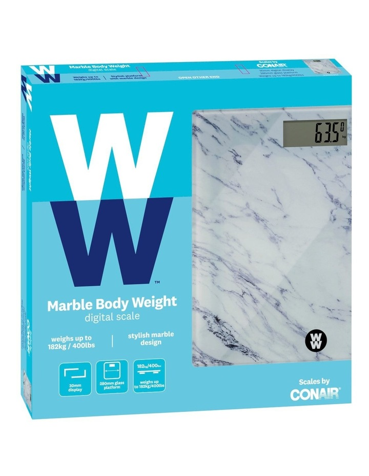 Marble Body Weight Scale: WW8903MA image 4