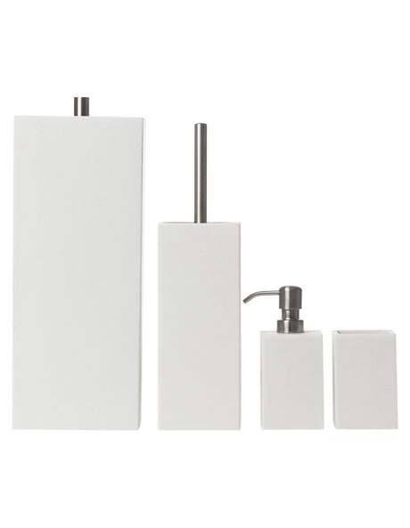 Vue | Elements Bathroom Accessories in White | Myer Online