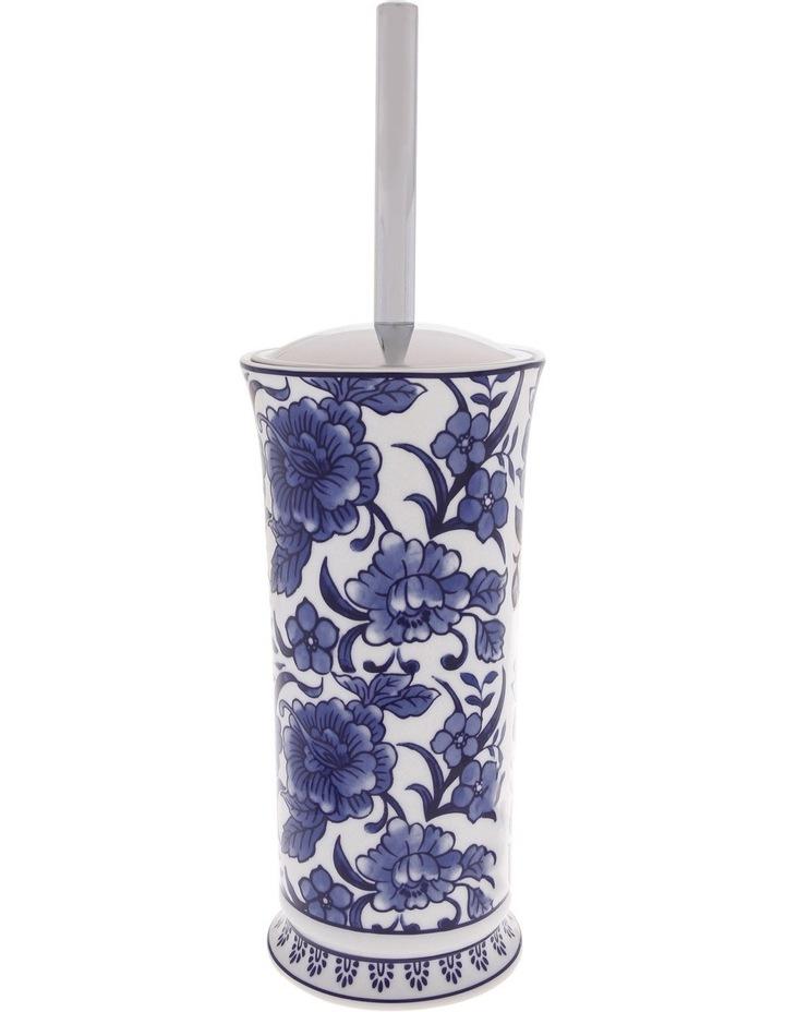 Madeline Lotion Dispenser in White/Blue image 5
