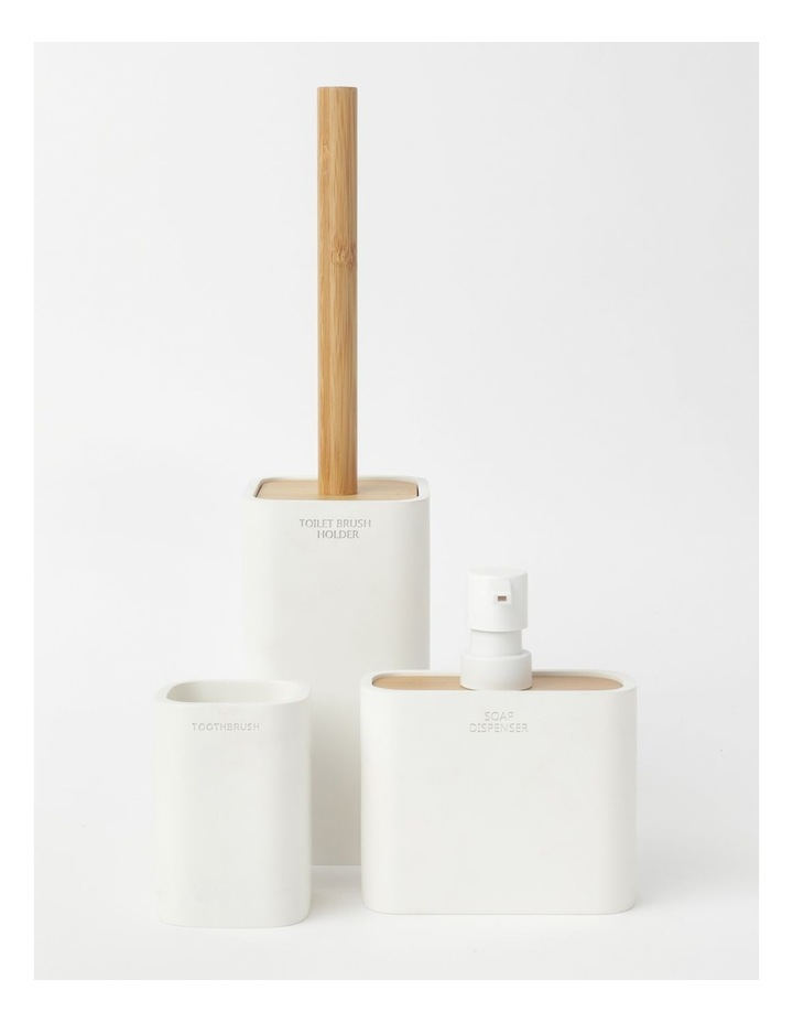 Windsor Bathroom Accessories in White image 1