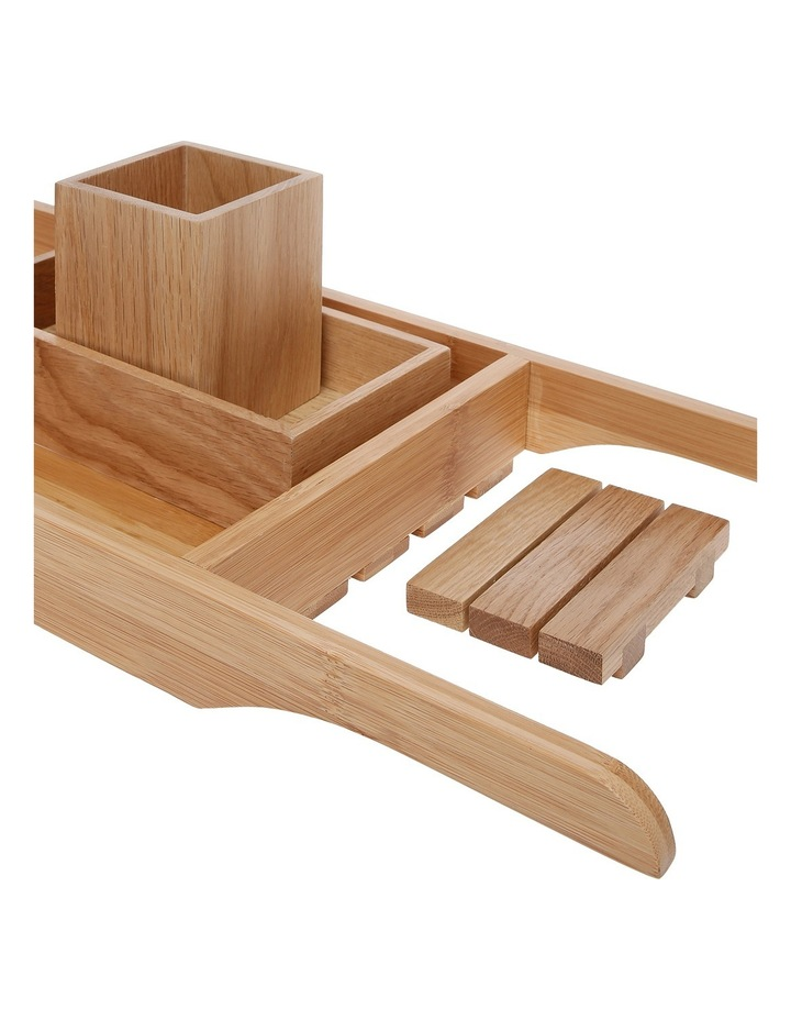 Apollo Bamboo Bath Accessories