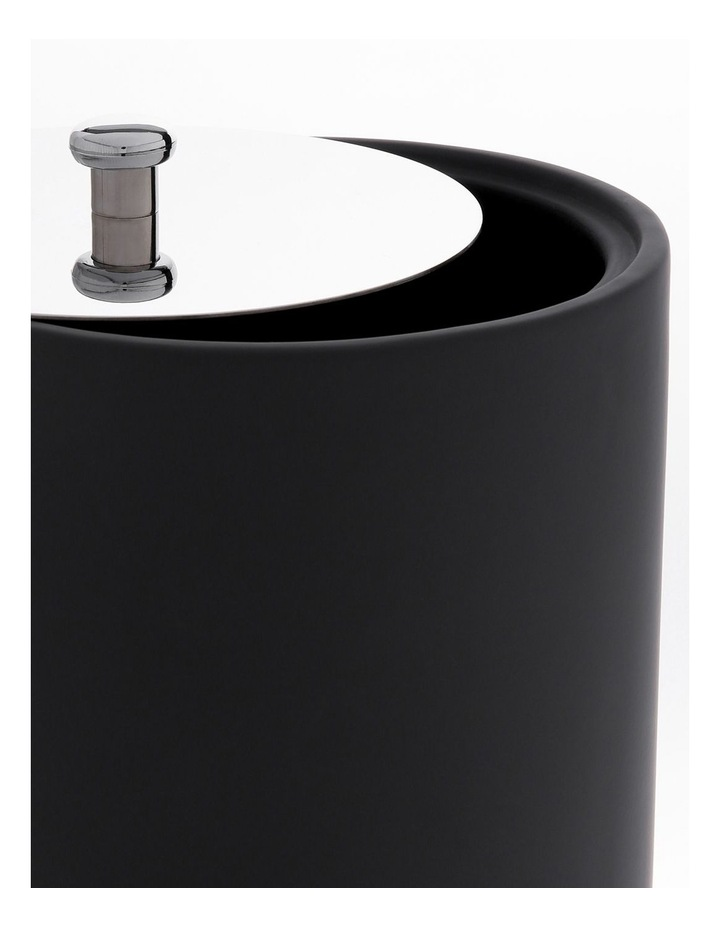 Maine Soft Touch Ceramic Bathroom Accessories in Black image 3