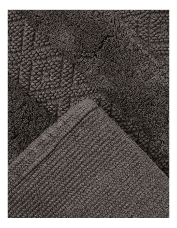 Raleigh Bath Mat in Charcoal image 2
