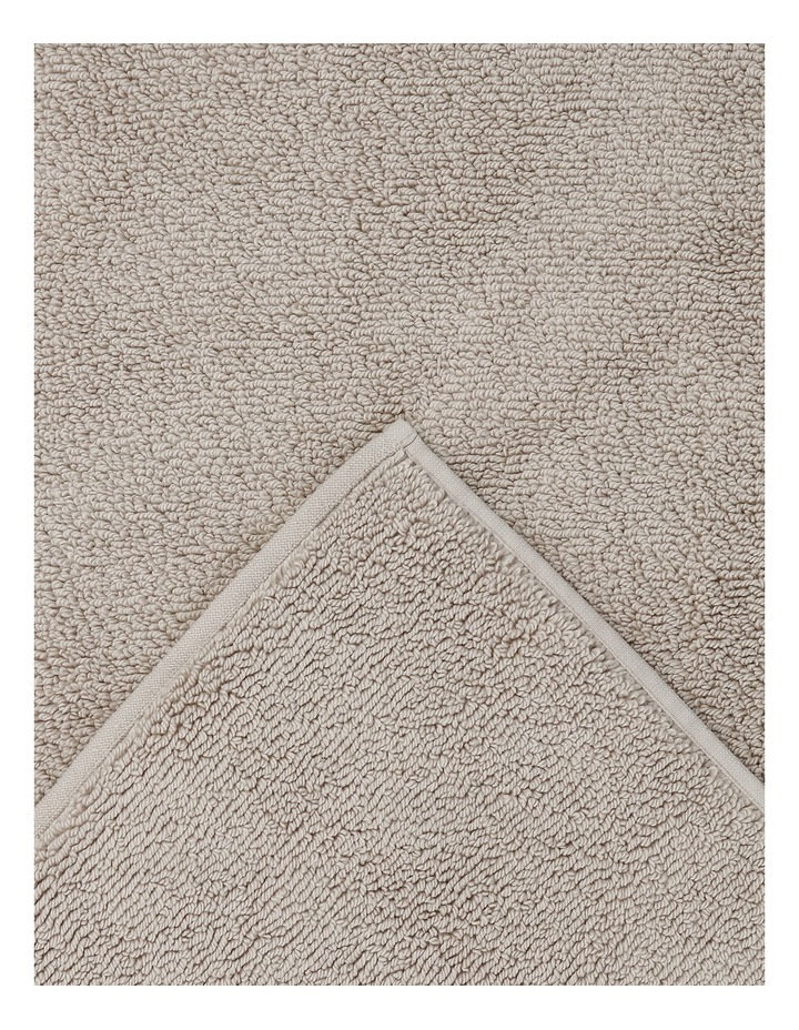 Manarola Turkish Cotton Bath Mat in Natural image 2