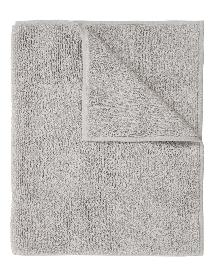 Manarola Turkish Cotton Bath Mat in Grey image 1