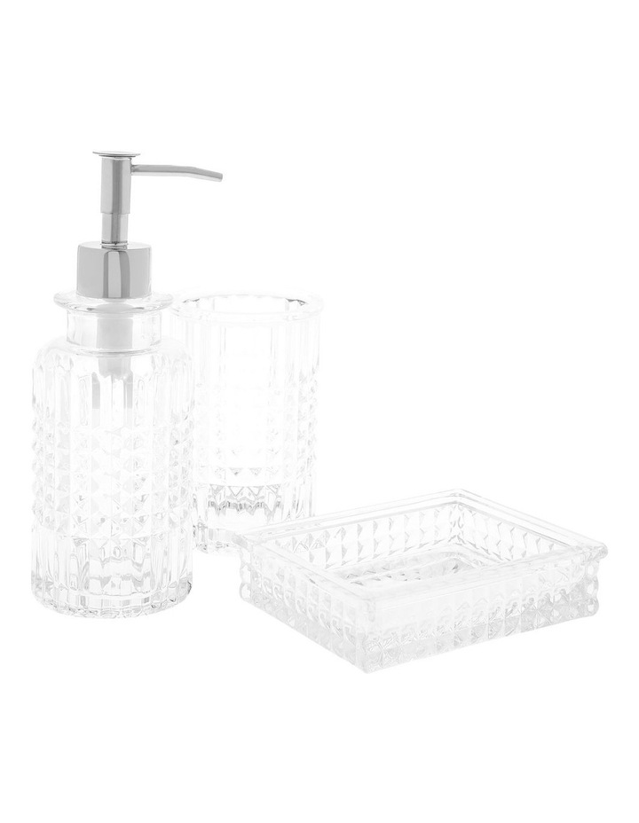 Havana Bathroom Accessories in Clear (Dispenser) image 1