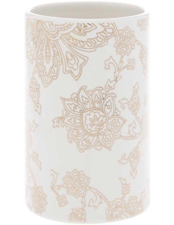 Aris Gold Foil Floral Print Tumbler image 1
