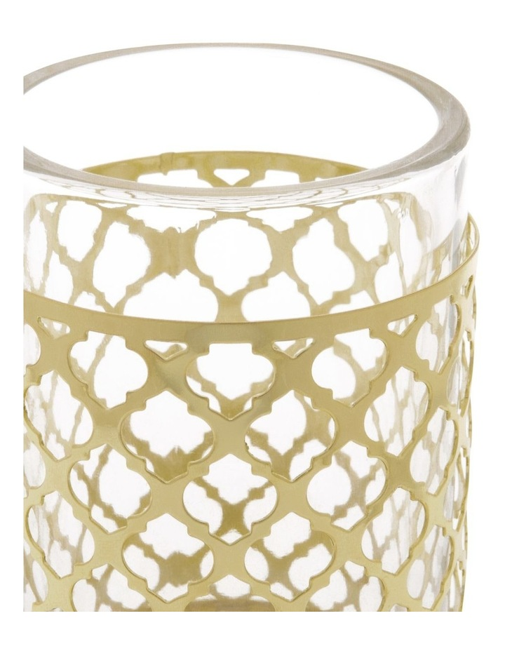Odila Glass Tumbler with Weave Overlay image 2