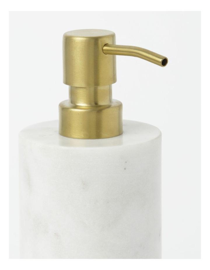 Marble Bathroom Accessories Range in White image 4