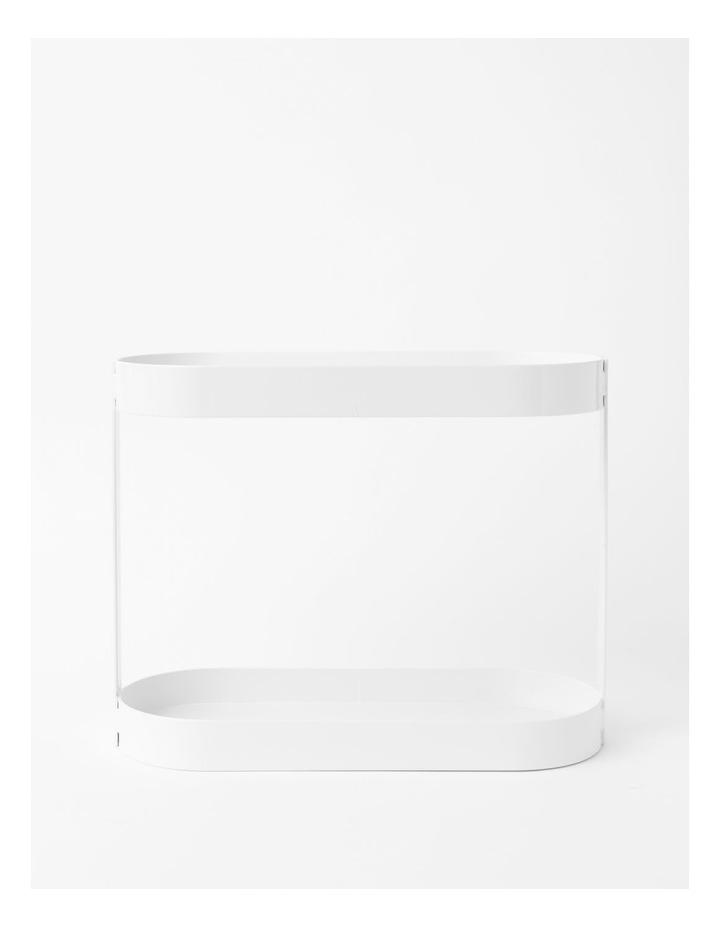 Arlington 2 Tier Shelf in White image 1