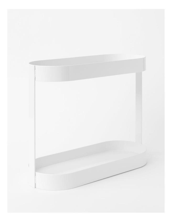 Arlington 2 Tier Shelf in White image 2