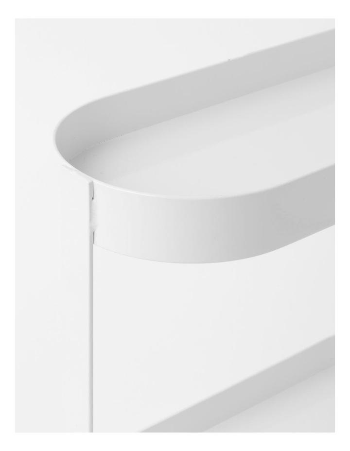 Arlington 2 Tier Shelf in White image 3
