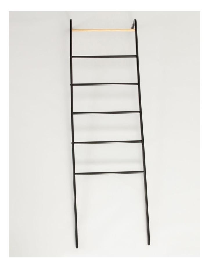 Arlington Storage Ladder in Black image 1