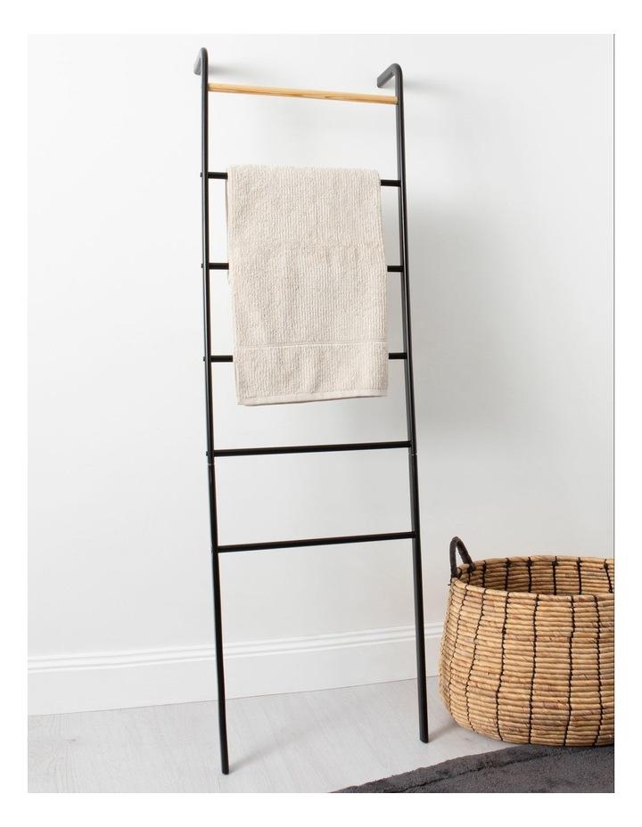 Arlington Storage Ladder in Black image 3